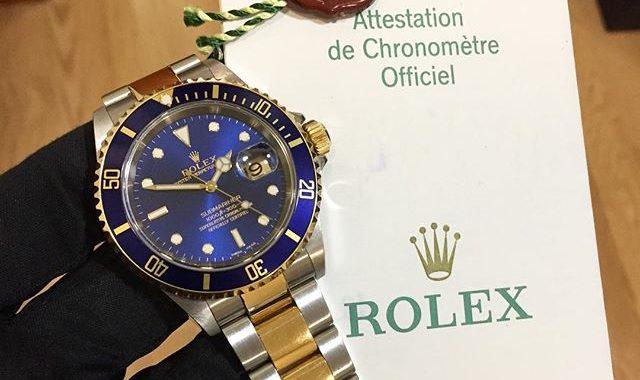 Rolex Submariner Steel & Gold