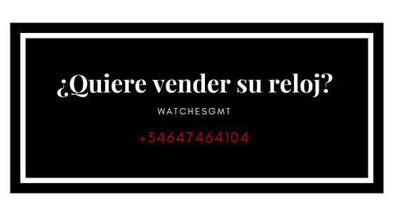 vender su reloj