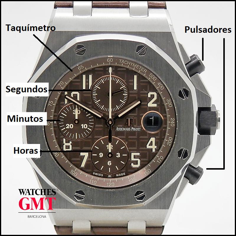 reloj cronografo